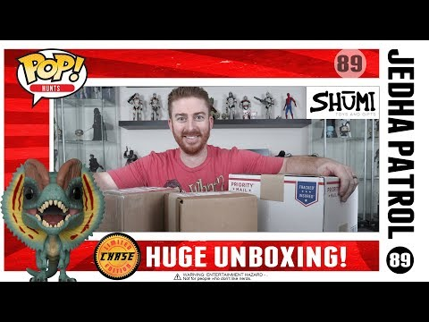 Unboxing Funko Pop Mysterious Box Grand Prize - Mail Haul & Another Mysterious Box