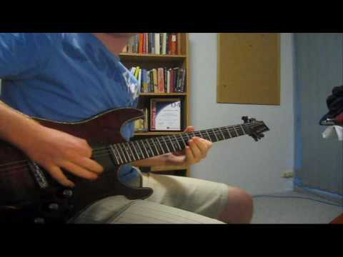 """There's No Sympathy For The Dead"" - Escape The Fate guitar cover"