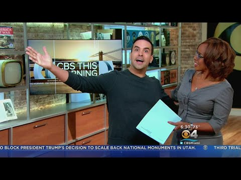 CBS' Gayle King Gets A Real Eye Opener From CBS4's Eugene Ramirez