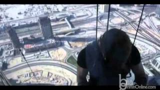 Tom Cruise High Wire Act for Mission Impossible 4