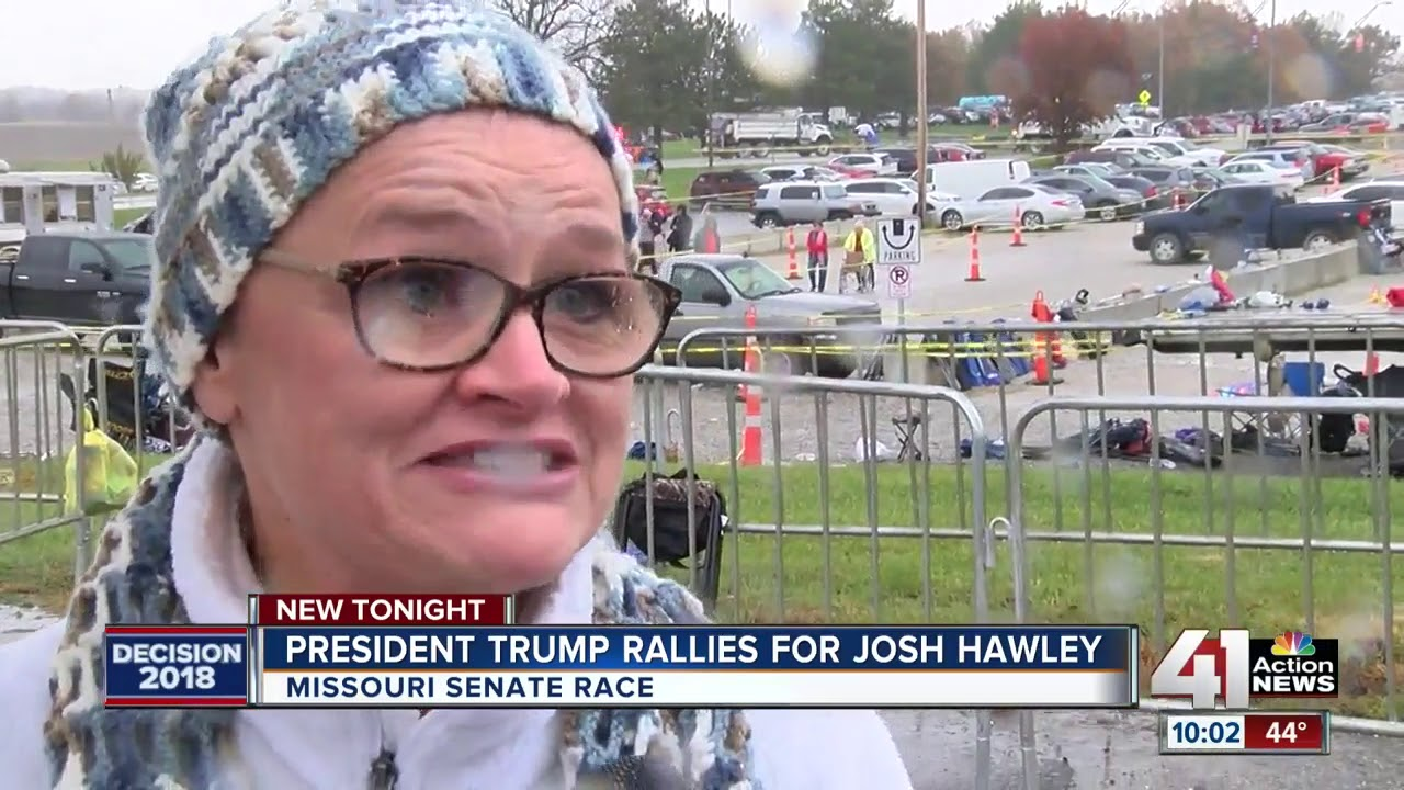 Thousands attend Trump rally in Columbia