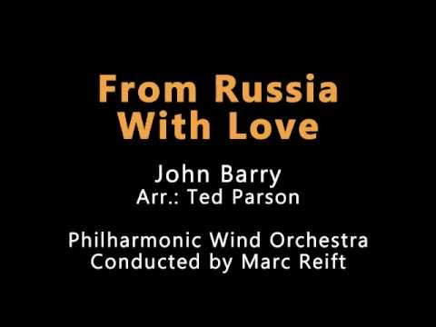 Marc Reift - From Russia With Love (John Barry, Arr.: Ted Parson)