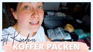 KOFFER PACKEN MIT BABY | Berlin wir kommen | Weekly Vlog #13