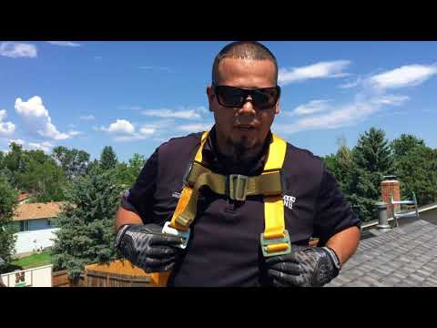How To Use A Roof Safety Harness | Fall Protection