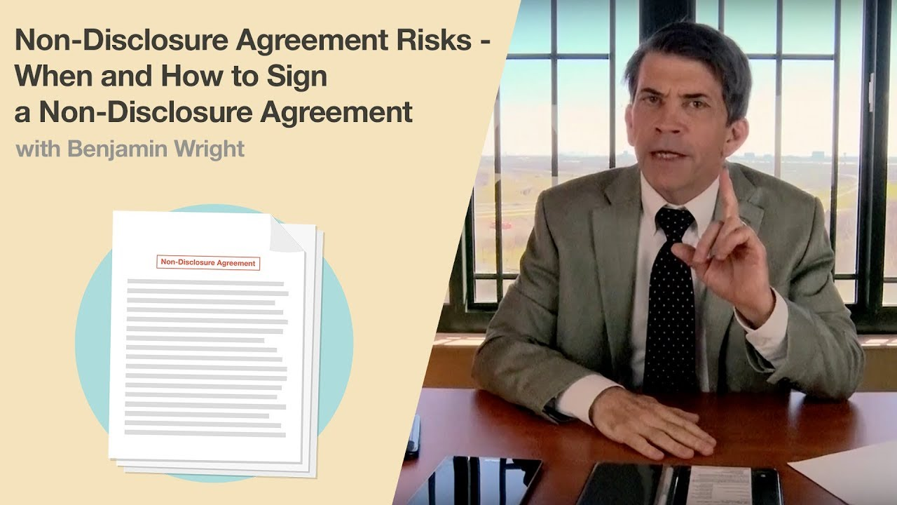 Non Disclosure Agreement Risks When And How To Sign A Non Disclosure Agreement
