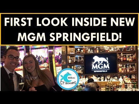 FIRST LOOK @ MGM SPRINGFIELD WITH CT SLOTTERS!