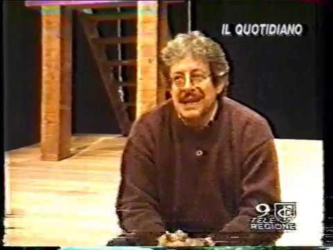 Pino Micol, bravissimo in Cyrano al Teatro Nazionale, regia Maurizio Scaparro 04/05/1996