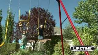 Lifetime Heavy-duty A-frame Swing Set