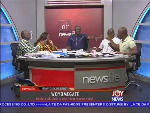 Dr Omane Boamah arrogant attitude on Joy FM's Newsfile