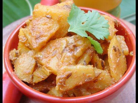 Recette Indienne Végétarienne Jeera Aloo Facile et ...