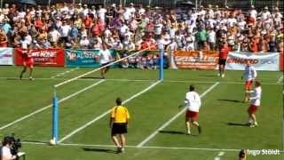 Faustball-EM 2012: Finale Österreich - Schweiz