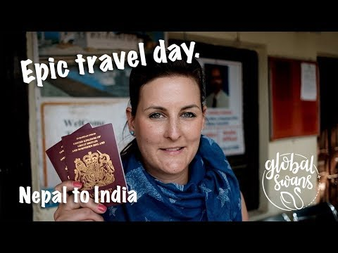 EP14 - EPIC travel day! Nepal to India overland