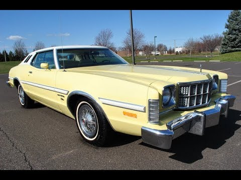 1975 ford gran torino elite 2 door coupe youtube. Black Bedroom Furniture Sets. Home Design Ideas