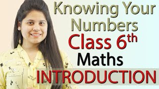 """""""Knowing Your Numbers"""" Chapter 1 - Introduction - Class 6th Maths"""