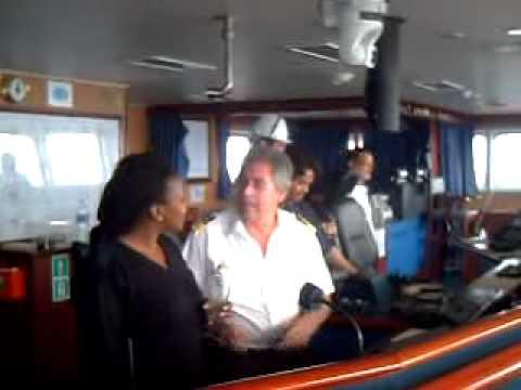 Young Black Women Pilot Richards Bay South Afric.AVI