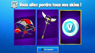 GLITCH AVOIR LE *PACK DE SKINS* GRATUIT et *1000 V-BUCKS* sur FORTNITE... (faite attention)