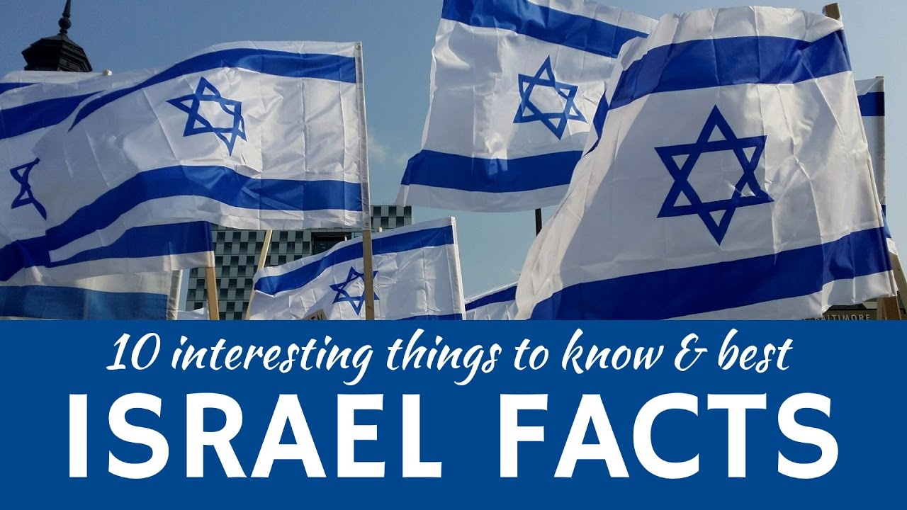12 facts about Israel