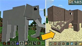 32 НОВЫХ МОБА в Minecraft PE 1.9-1.8 | СЛОНЫ, ПТИЦЫ, ХОМЯКИ, КРОКОДИЛЫ, БЕГЕМОТЫ... | СКАЧАТЬ АДДОН!