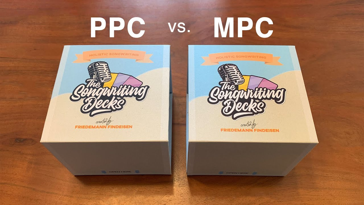 The Songwriting Decks MPC Unboxing! (Final Quality)