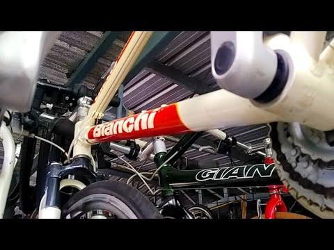 จักรยาน มือ2 จากญี่ปุ่น เสือภูเขา Bianchi สีแดง/Giant สีเขียว 4,900 @ออสติน บ้านจักรยาน รามอินทรา117