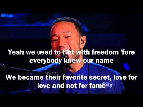 John Legend - Overload ft. Miguel (Lyrics)