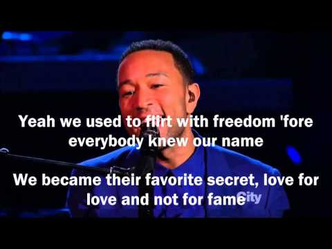 John Legend - Overload ft. Miguel (Lyrics)