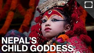 Nepal's Controversial Child Goddess