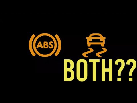 Jeep JK - ABS Light  Traction Control Light What to do?? - YouTube