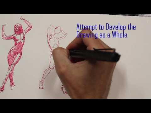 Figure Drawing Quick Sketch Process Explained