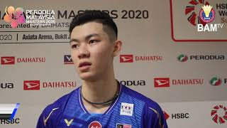 """Confidence was key to victory,"" - Zii Jia 