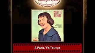 Collete Renard & Raymond Legrand And His Orchestra – A Paris, Y´a Tout ça
