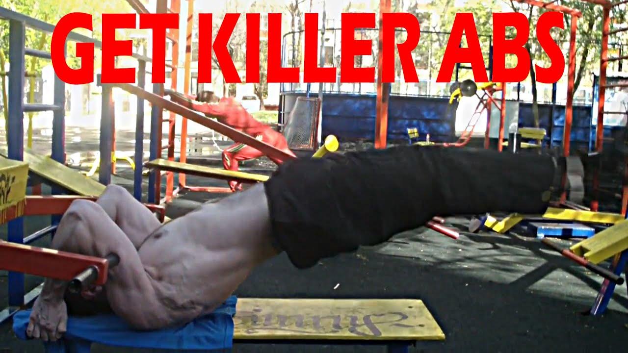 Download Dragon Flag   Hardest Core Exercises - Get Killer ABS