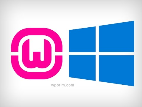 How to Install wamp server on windows 10  ( Full HD)