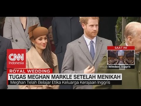 Tugas Meghan Markle Setelah Menikah - Royal Wedding Pangeran Harry - Meghan Markel