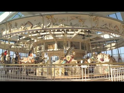 Tom & Becky - Destiny USA's Iconic Carousel Having Some Restorative Work Done To It!
