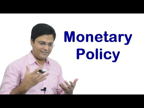 Monetary Policy in Hindi