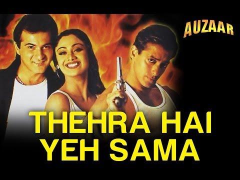 Thehra Hai Yeh Sama - Auzaar | Sanjay Kapoor & Shilpa Shetty | Alka Yagnik & Kumar Sanu