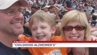 'Childhood Alzheimer's': The disease robbing kids of their memories
