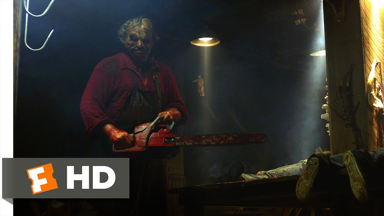 Texas Chainsaw (4/10) Movie CLIP - A Grave Problem (2013