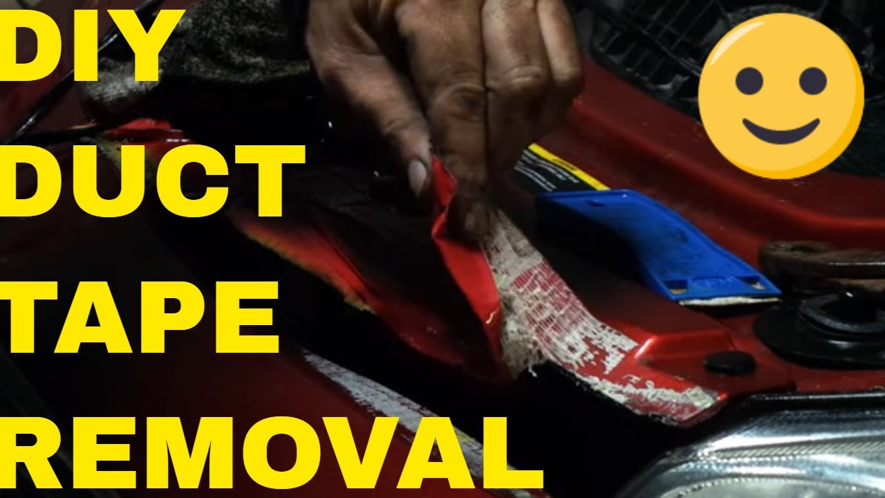 foto How to Remove Duct Tape from a Snake