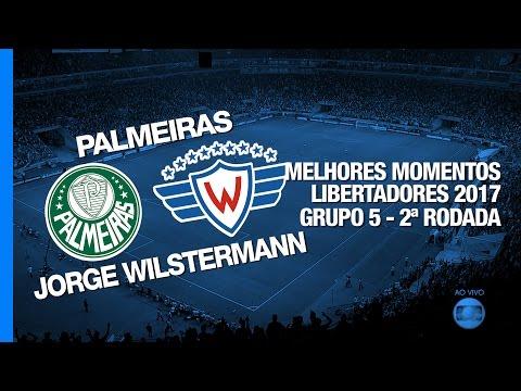 Melhores Momentos - Palmeiras 1 x 0 Jorge Wilstermann - Libertadores - 15/03/2017