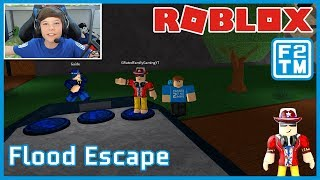 G-Rated Family Gaming & Fraser2TheMax | Roblox Flood Escape