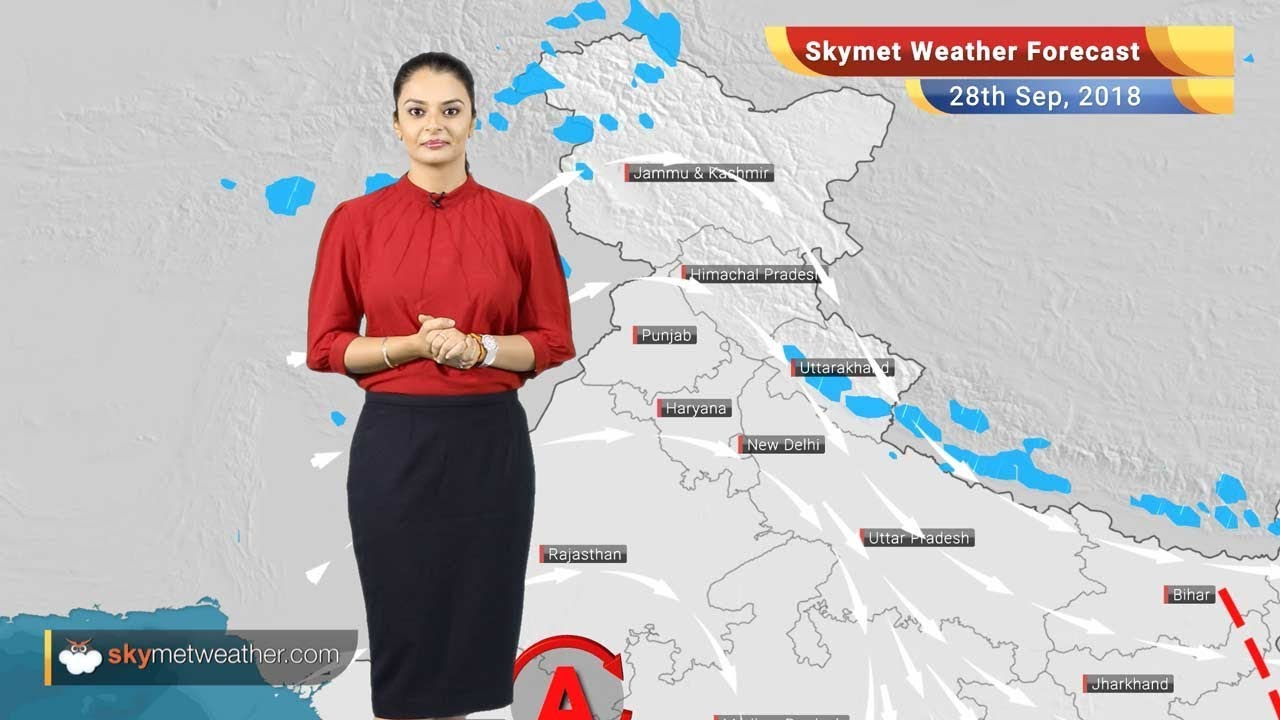 Weather Forecast for Sep 28: Rain in West Bengal, Kerala