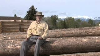 montana school of log building log home building styles