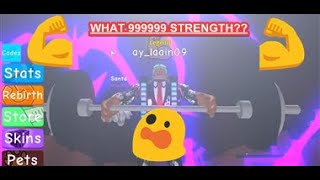 Roblox Weight Lifting Simulator 3 How To Farm Strength Fast