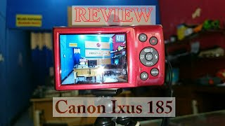 CANON IXUS 185 8X ZOOM REVIEW