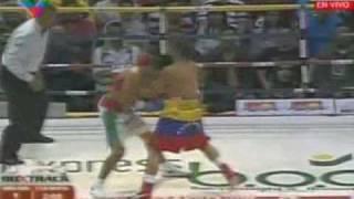 Edwin El Inca Valero Vs. Hector Velasquez 19 dic 09 Venezuela - KO por el Inca. 1 de 4