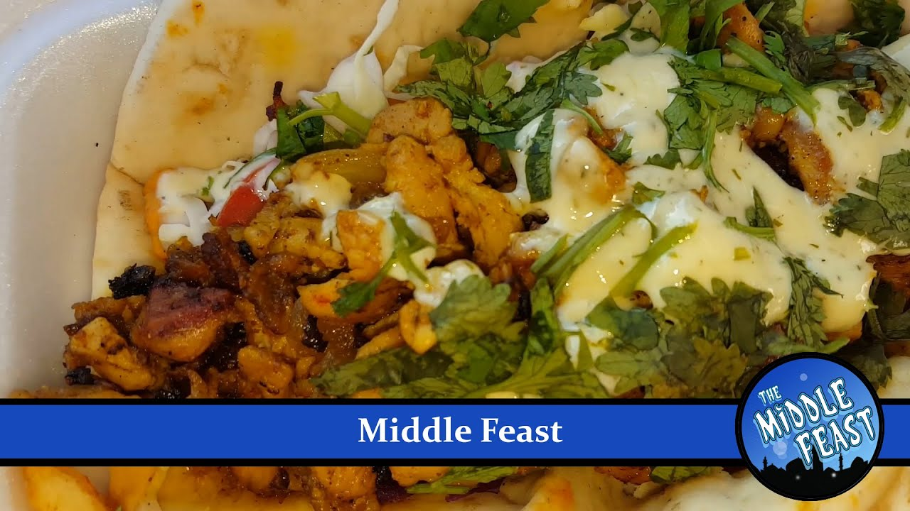 The Middle Feast Truck Review - YouTube