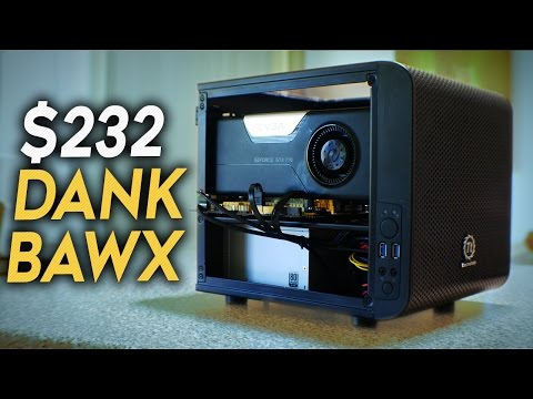 THE DANK BAWX - $232 SFF PC For CS:GO & Fallout 4