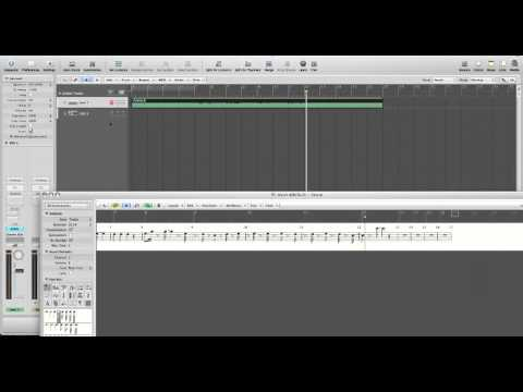Tutorial - Creating a Lead Sheet in Logic Pro